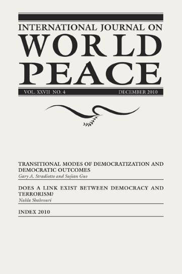 The Journal of Peace Studies -