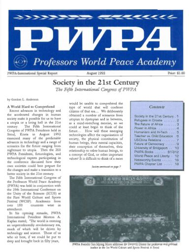 PWPA USA Publications -